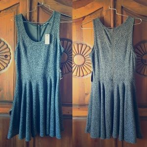 Express jumper/dress grey/black NWT (2/$20)
